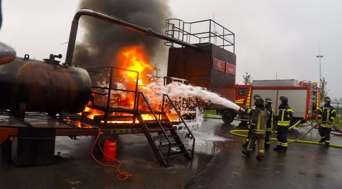 Fortbildung  Industrielle Brandbekämpfung
