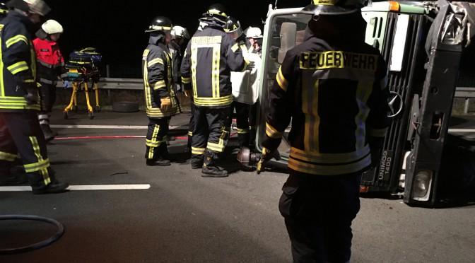 Nr.01 >Schwerer Verkehrsunfall auf der A31
