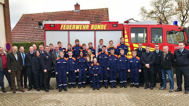 38. Jugendfeuerwehr im Landkreis Leer gegründet